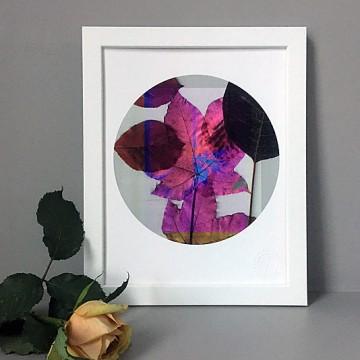 Leaves 4 print