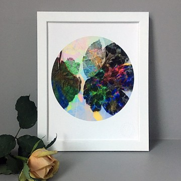 Leaves 2 print
