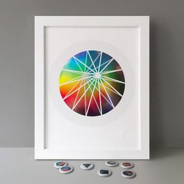 Circular Bipyramid print