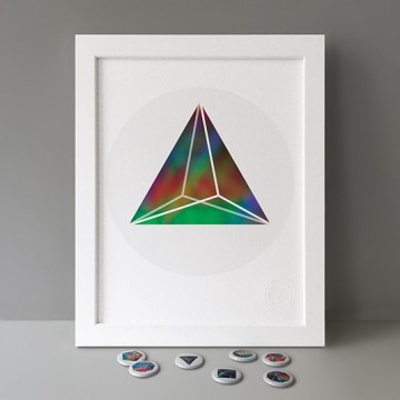Triangular Bipyramid print