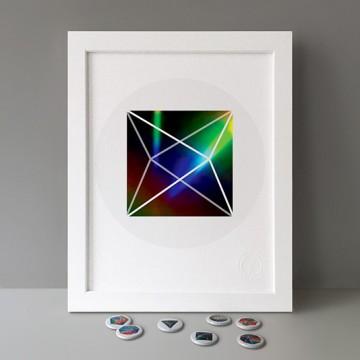 Square Bipyramid print