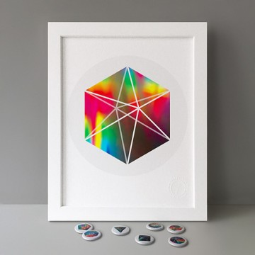 Hexagonal Bipyramid print