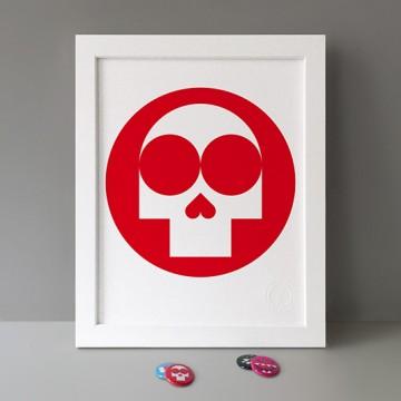 Skull print