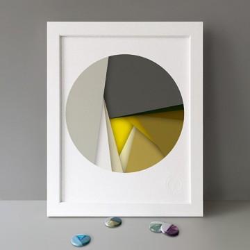 Yellow print