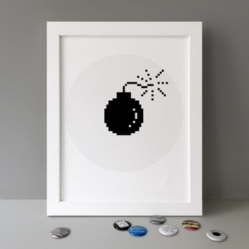 Crash Bomb print