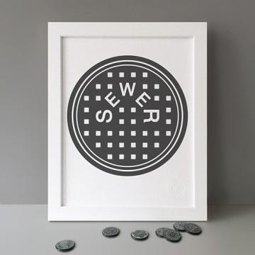Sewer print