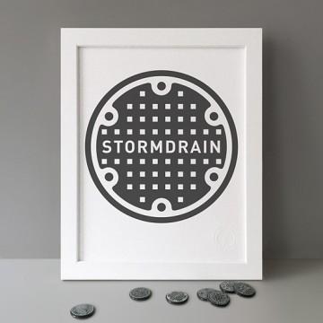 Stormdrain print