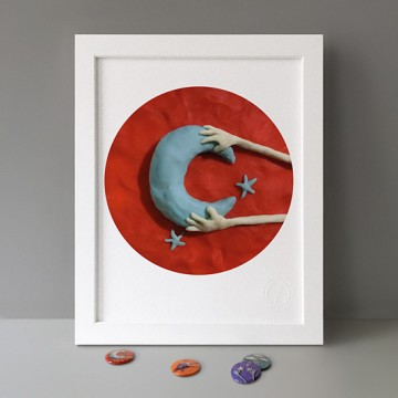 Moon print