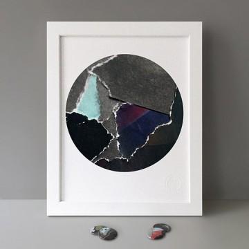 Dark Paper print