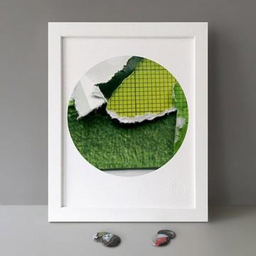 Green Paper print