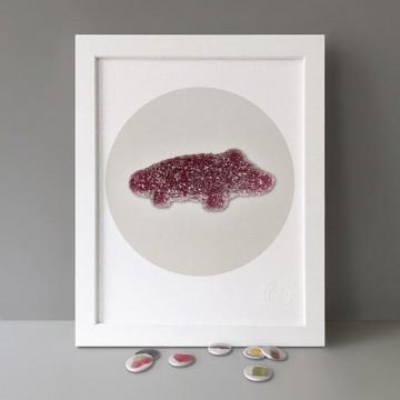 Croc print