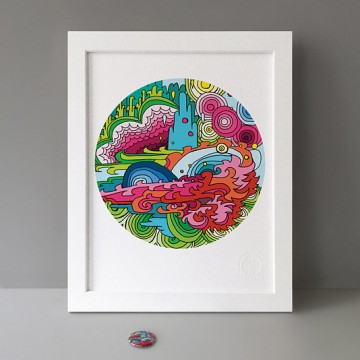 Dream Land print