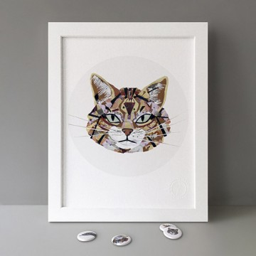 Scottish Wildcat print