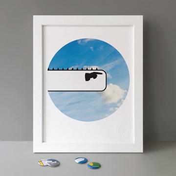 Fingerpost print