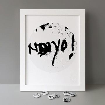Ndiyo! print