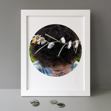 Flower Crown / Water print