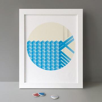 Water, Blue print