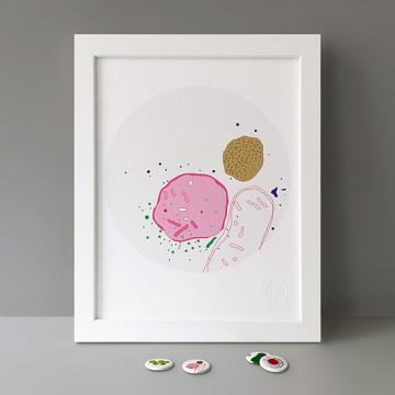 Cellular Organelles print
