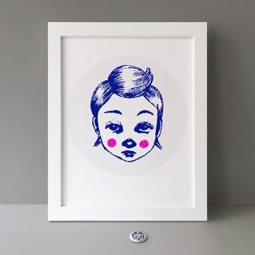 Feeling Blue print
