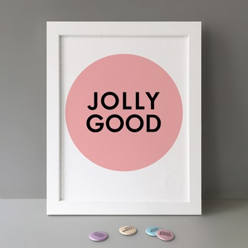 Jolly Good print