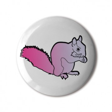 Squirrel 1 (magenta-lavender gradient, right)