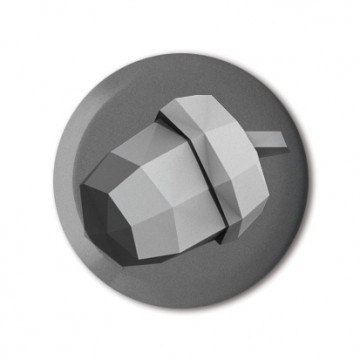 Acorn (polygon, silver)