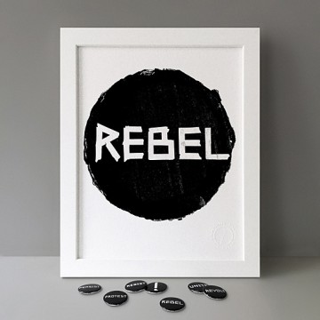 Rebel print