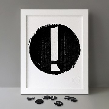 Exclamation Mark print