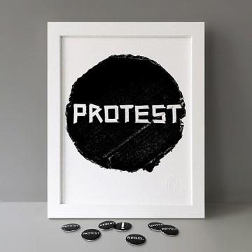 Protest print