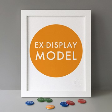 Ex-Display Model print