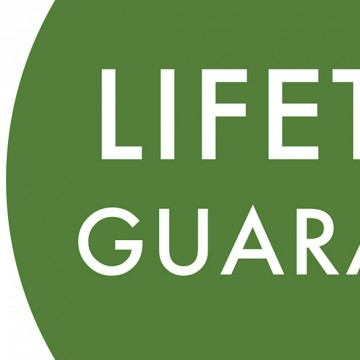 Lifetime Guarantee print