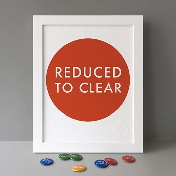 Reduced To Clear print