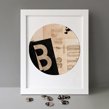 Collage B print
