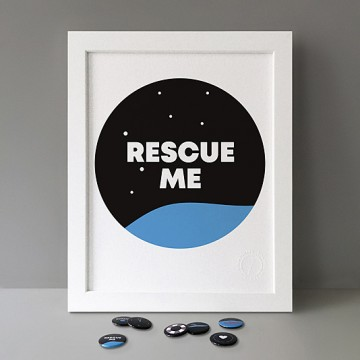 Rescue Me print