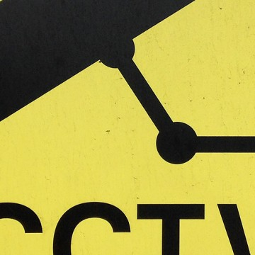 CCTV Sign 3 (yellow) print
