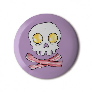 Egg Bacon Skull