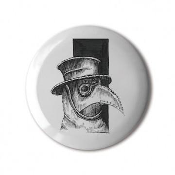 Black Death Mask Steampunk Birdy