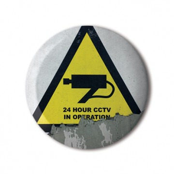 CCTV Sign 6 (triangle)