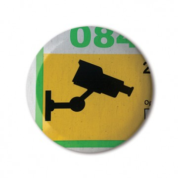 CCTV Sign 2 (yellow, green)