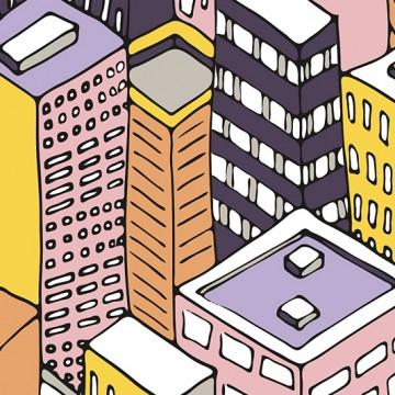 City Perspective print
