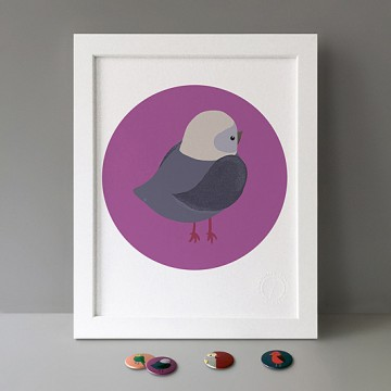 Bird (Grey Purple)