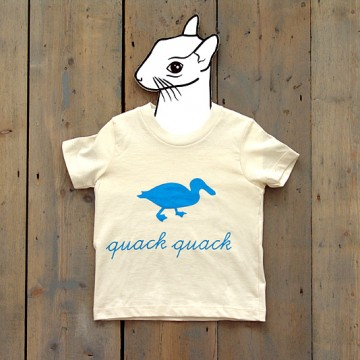 bzzzpeek.com support T-shirt, Duck (kids)