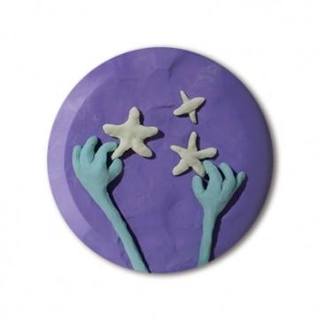 Gift Box: 4 button badges (Sky Doh)