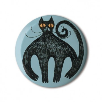 Gift Box: 4 button badges (Cats Etc)