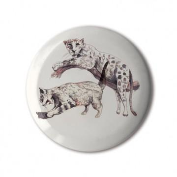 Gift Box: 4 button badges (Animals)