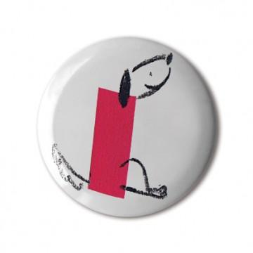 Gift Box: 4 button badges (Minimal Animals)