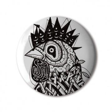 Gift Box: 4 button badges (Farm Animals)