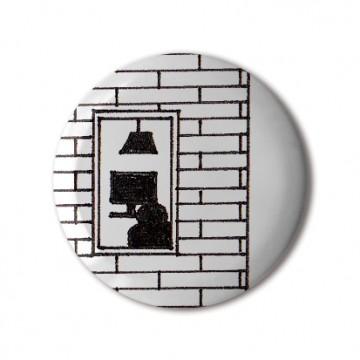 Gift Box: 4 button badges (Doodle Windows Scenes)