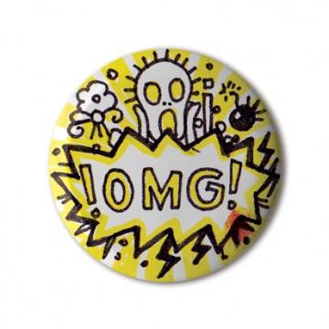 Gift Box: 4 button badges (Doodle LOL)