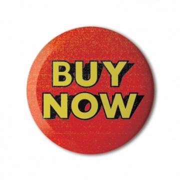 Gift Box: 4 button badges (Portable Retro Ads)